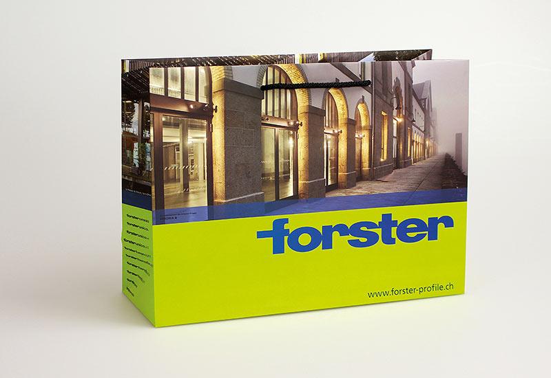 exklusive-Papiertasche-Forster,-mattlaminiert,-PP-Kordel