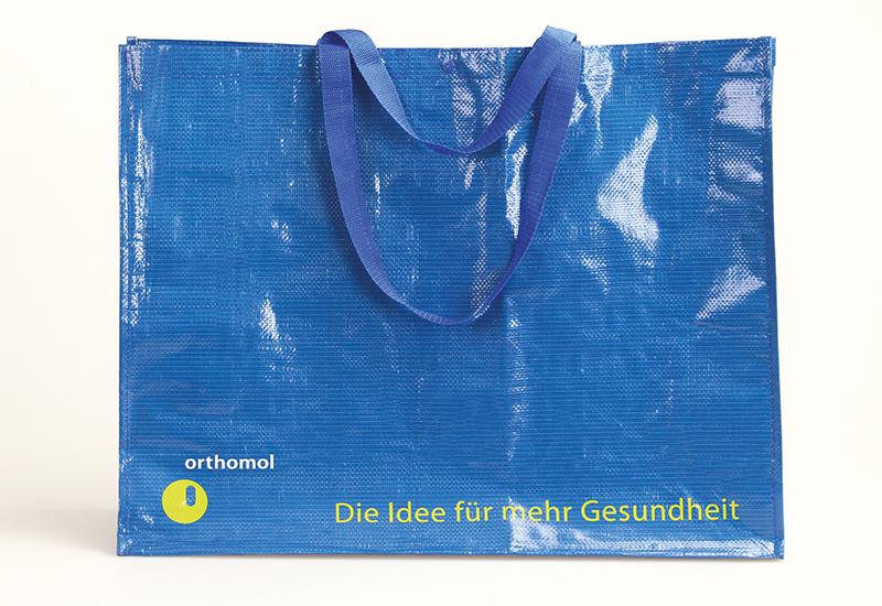 pp-woven-Tasche-glanzlaminiert-Orthomol